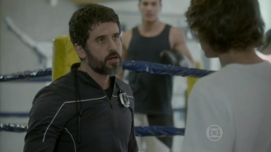 Gael (Eriberto Leão) e Pedro (Rafael Vitti) em Malhação - Sonhos (Reprodução / Globo) - Reprodução / Internet