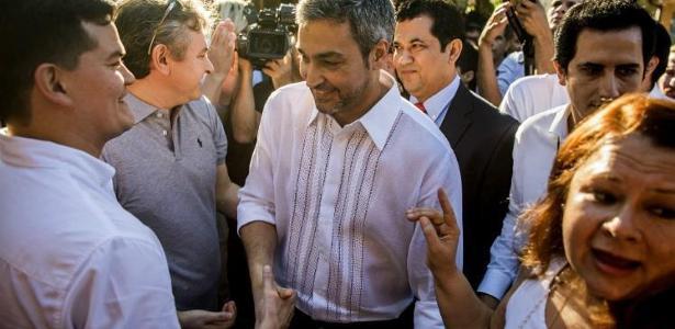 O presidente recém-eleito do Paraguai, Mario Abdo Benítez - Foto: EITAN ABRAMOVICH / AFP