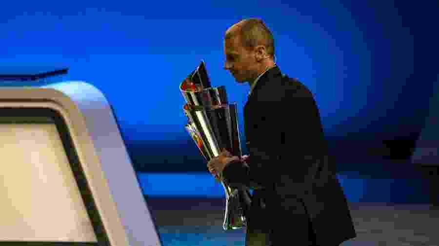 Aleksander Ceferin, presidente da Uefa, entidade que gerencia o futebol europeu - Robert Hradil/Getty Images