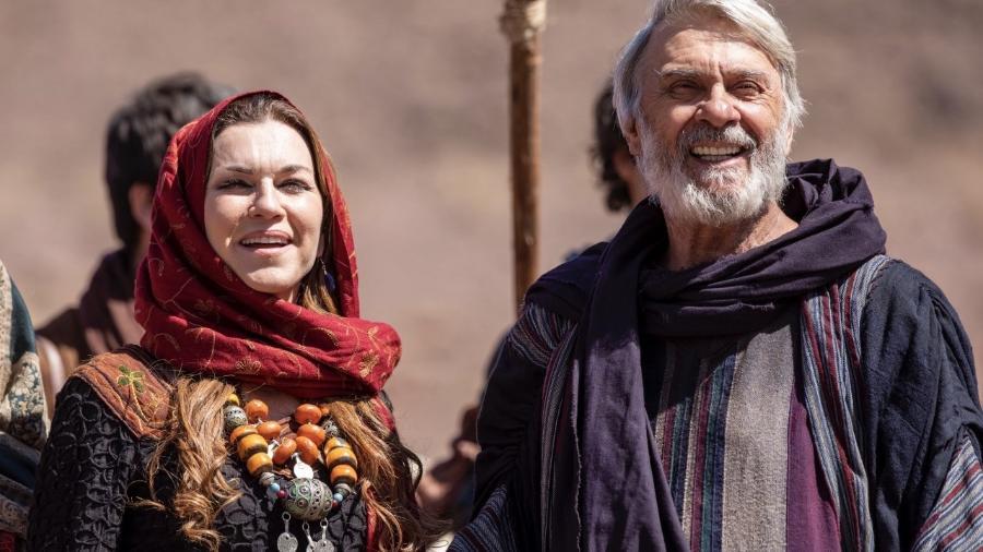 Abrão e Sarai, de Gênesis (Divulgação/Record) - Reprodução / Internet