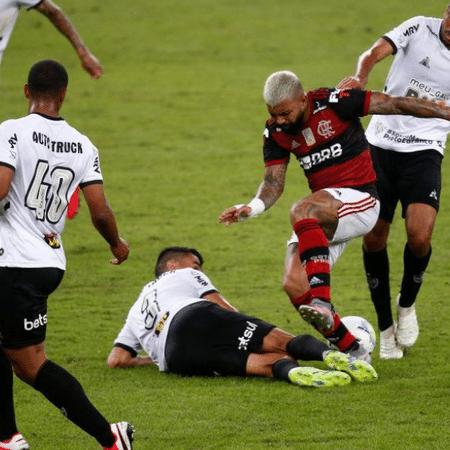 Flamengo de Gabigol foi derrotado pelo Atlético-MG na estreia do Brasileirão - GettyImages