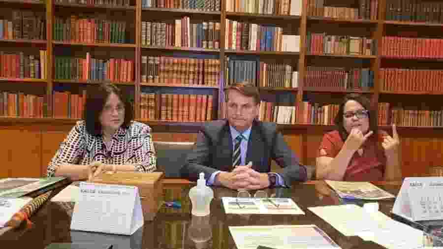 Live semanal do presidente Bolsonaro                       - Reprodução