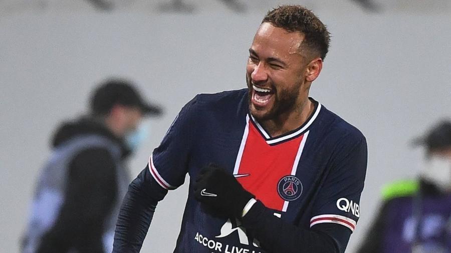 Neymar é o maior artilheiro brasileiro da história da Liga dos Campeões - Reprodução / Internet