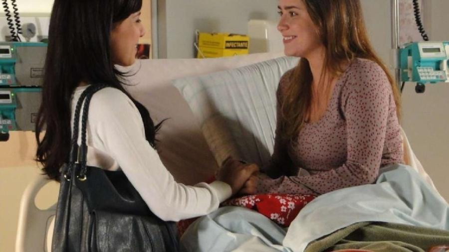 Manuela (Marjorie Estiano) e Ana (Fernanda Vasconcellos) em A Vida da Gente (Reprodução/Globo) - Reprodução / Internet