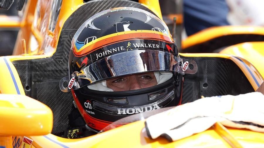 Fernando Alonso é uma das atrações das 500 milhas de Indianápolis - Brian Spurlock-USA TODAY Sports/File Photo