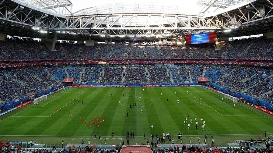 Chile e Alemanha disputaram a final da Copa das Confederações na Arena de São Petersburgo - Maxim Shemetov/Reuters
