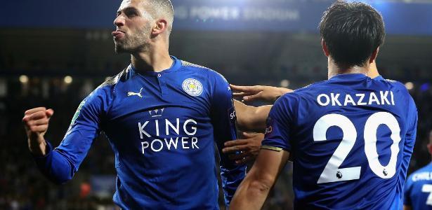 Leicester deu um salto na tabela do Inglês -