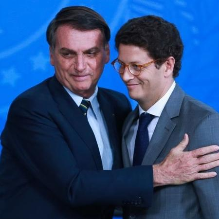 Bolsonaro e Ricardo Salles - Agência Brasil