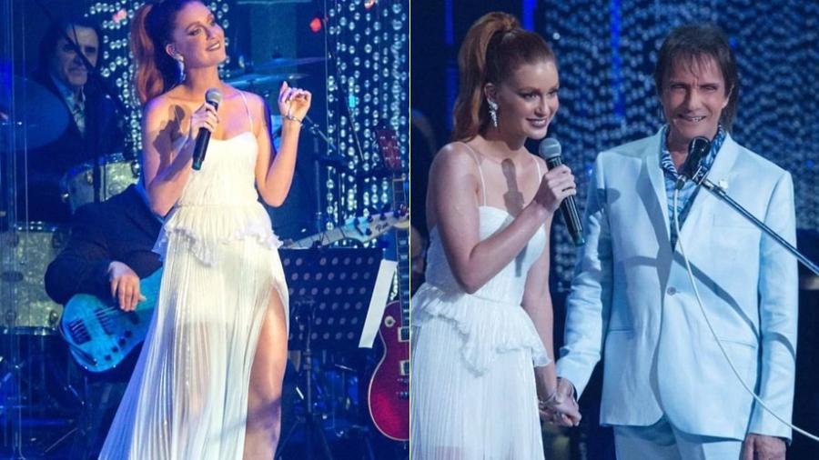 Marina Ruy Barbosa cantou com Roberto Carlos em especial de fim de ano - Reprodução/ Instagram