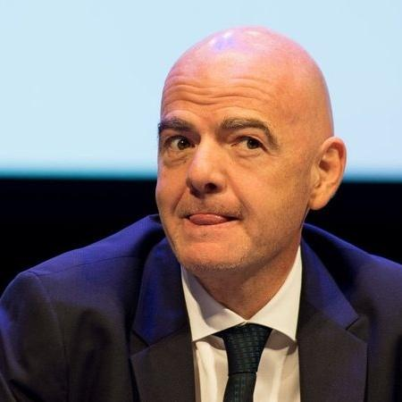 Gianni Infantino, presidente da Fifa, tenta achar data para o Super Mundial - Getty Images