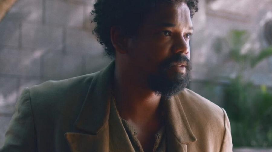 Samuel (Michel Gomes) em Nos Tempos do Imperador (Reprodução/TV Globo). - Reprodução / Internet