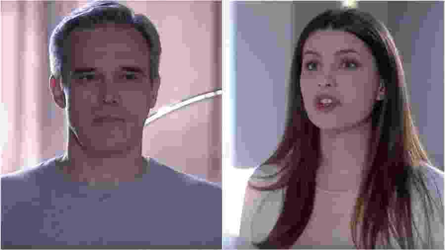 Pendleton e Luísa em As Aventuras de Poliana (Foto: Reprodução/SBT) - Reprodução/SBT