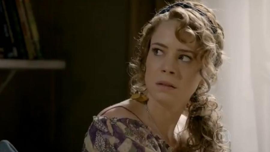 Cristina (Leandra Leal Braz), de Império (reprodução/TV Globo) - Reprodução / Internet