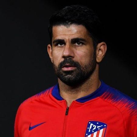 Diego Costa em ação pelo Atlético de Madrid - GettyImages
