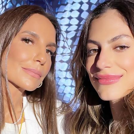 Ivete Sangalo e Mari Gonzalez: a influencer se emocionou ao falar da relação com a cantora - (Reprodução/Instagram)