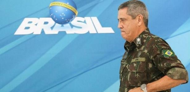 O general Walter Braga Netto é o interventor federal no Rio de Janeiro