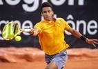 Auger-Aliassime começa bem no ATP de Lyon e desafia Johnson de olho na semi - (Sem crédito)