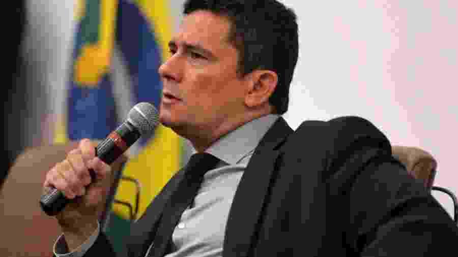 Sergio Moro, ministro da Justiça e Segurança Pública  - Isaac Medeiros/MJSP