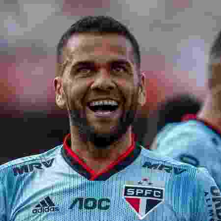 Daniel Alves era o grande nome do São Paulo na temporada - GettyImages