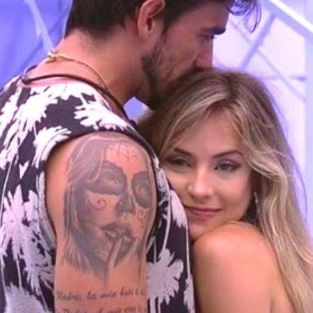 Gabi e Guilherme se beijaram na madrugada desta quinta-feira (6 - Reprodução/Gshow