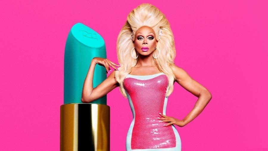 """Ru Paul, apresentadora de """"RuPaul""""s Drag Race""""  - Reprodução / Internet"""