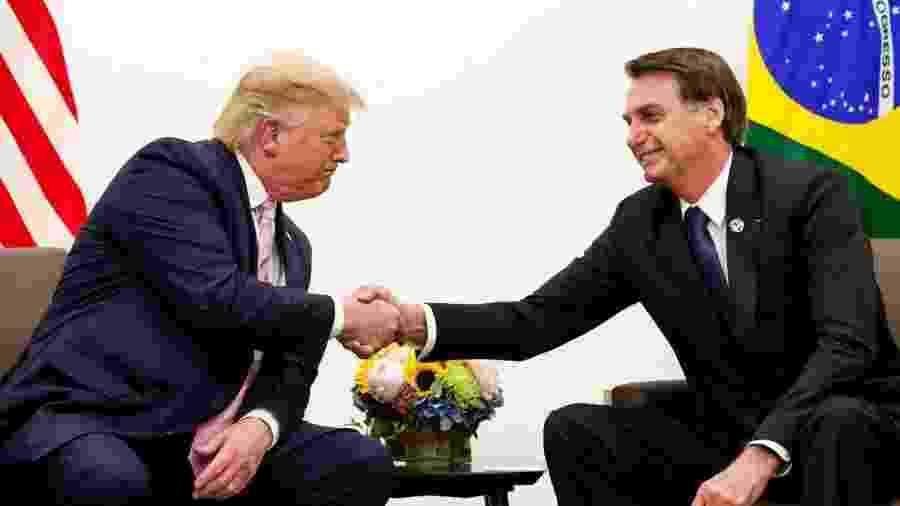 Brasil é o último dos aliados de Trump a se manter contra a OMS, uma campanha americana que o próximo presidente, Joe Biden, deve encerrar - ALAN SANTOS/PR