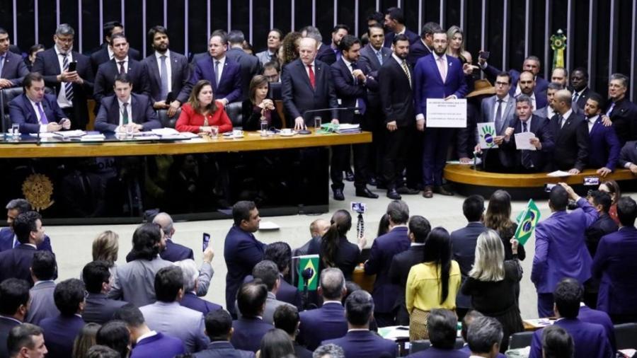 Plenário da Câmara ficou cheio para a votação da reforma da Previdência - Luis Macedo/Câmara dos Deputados