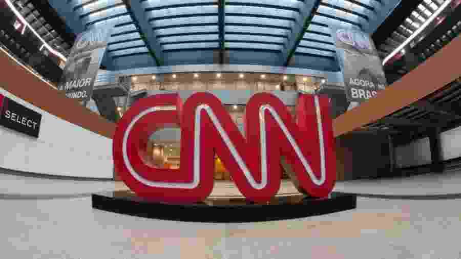 Saguão da sede da CNN Brasil, em São Paulo - Divulgação