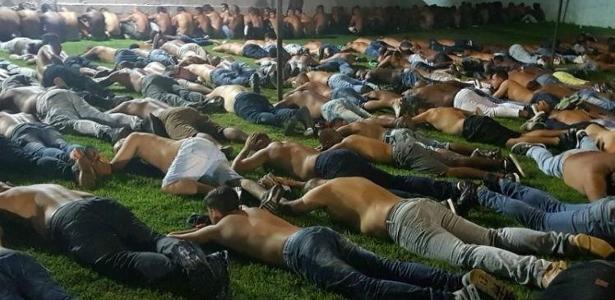 Parte dos presos em operação integrariam a milícia conhecida como Liga da Justiça - Foto: Polícia Civil/Divulgação