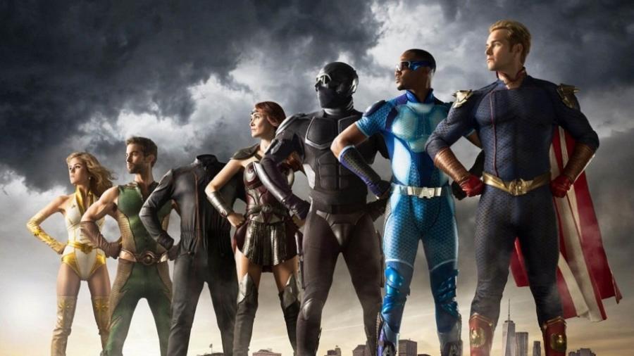 """""""The Boys"""" mostra o cotidiano de super-heróis - Reprodução/Amazon"""