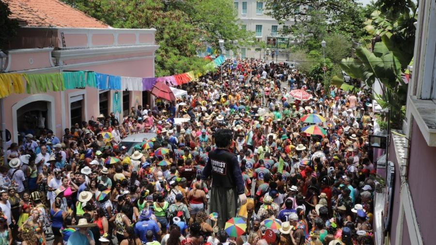 Carnaval de Olinda, em Pernambuco                              - Carnaval de 2020/JC IMAGEM