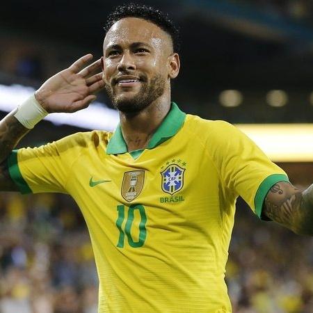 Neymar estava ligado na Supercopa do Brasil - GettyImages