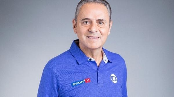 Luís Roberto, um dos principais narradores da Globo; ele vai narrar vôlei em horário nobre