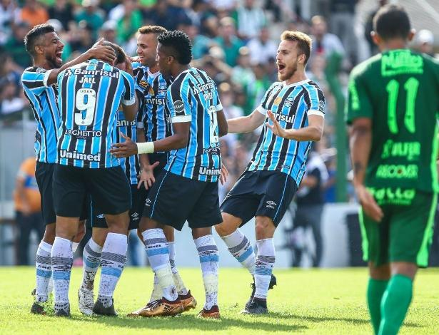 Grêmio constrói vantagem no jogo de ida de mata-mata desde 2016. No Gauchão tem sido igual