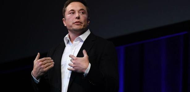 O bilonário Elon Musk fundador da Tesla e da SpaceX -
