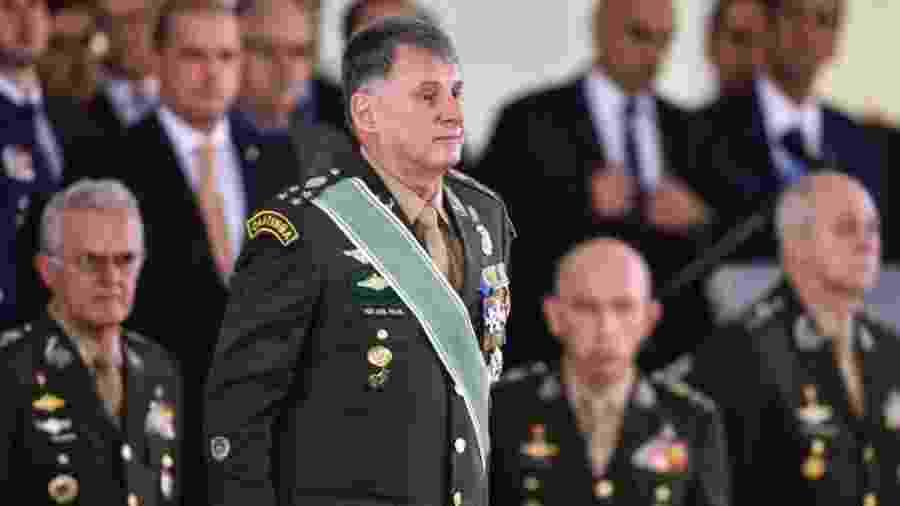 Comandante do Exército, general Edson Leal Pujol  - Valter Campanato / Agência Brasil