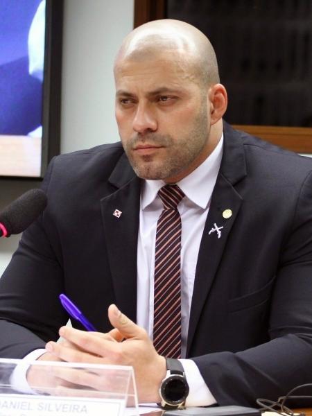 Daniel Silveira foi preso em flagrante pela Polícia Federal na noite de terça-feira (16) - Vinicius Loures/Câmara dos Deputados