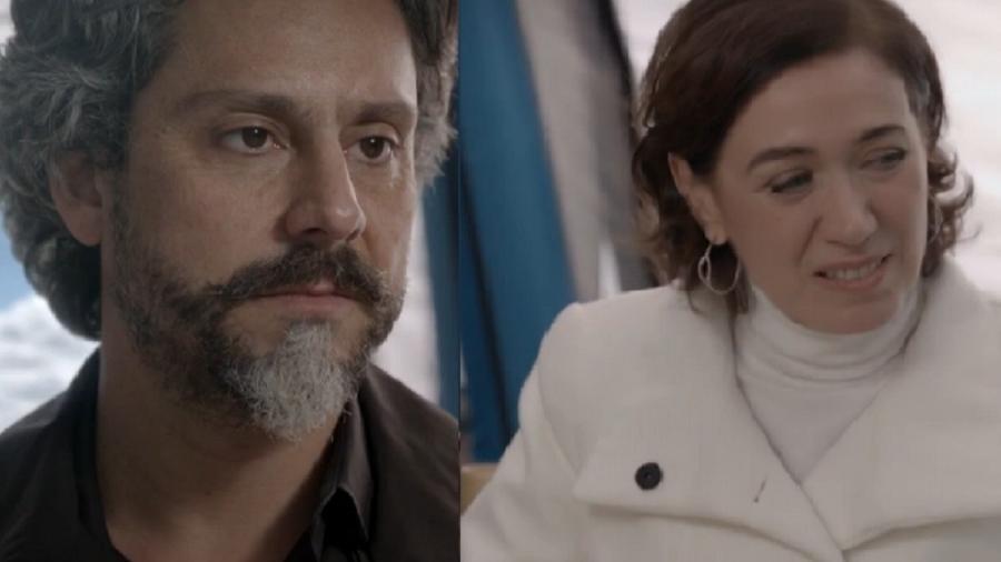 José Alfredo (Alexandre Nero) e Maria Marta (Lilia Cabral) em Império (Foto: Reprodução/Globo) - Reprodução / Internet