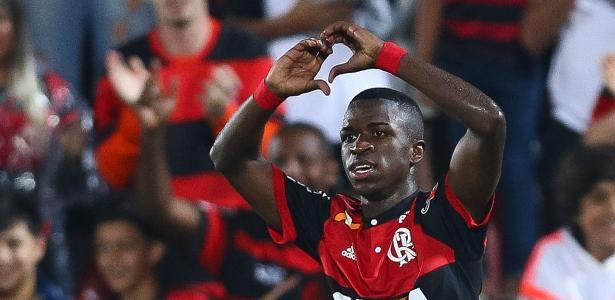 O atacante Vinicius Júnior está fora do Mundial sub-17 pela seleção brasileira