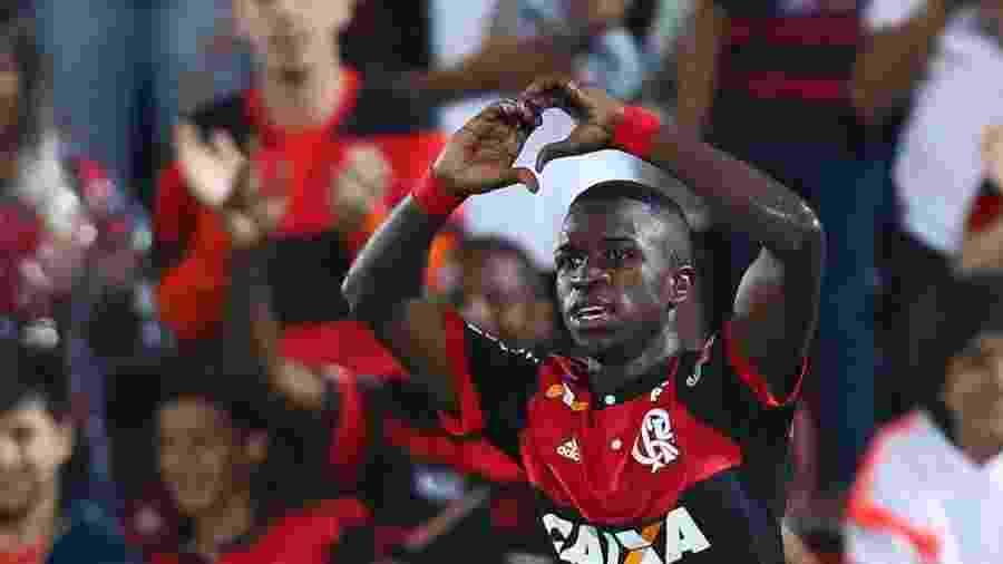 O atacante Vinicius Júnior está fora do Mundial sub-17 pela seleção brasileira -
