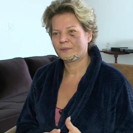 """A deputada federal Joice Hasselmann (PSL-SP) nega ter sido vítima de violência doméstica por """"não ter o perfil de mulher de malandro"""" - Reprodução/SBT News"""