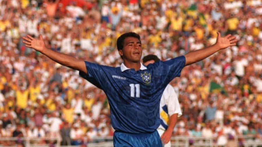 Romário na Copa de 94 -