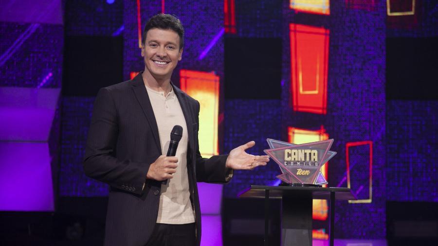 """Rodrigo Faro comanda o """"Canta Comigo Teen""""  - Edu Moraes/Record TV"""