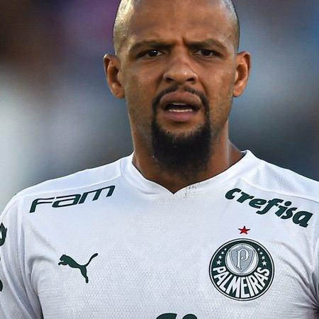 Felipe Melo em ação pelo Palmeiras no Mundial - GettyImages