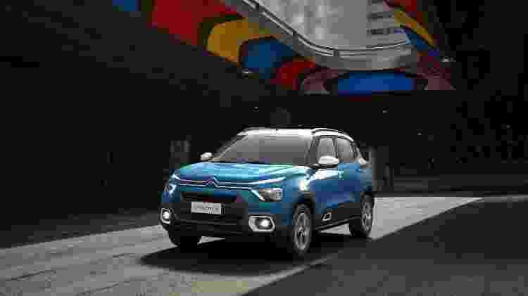 A nova geração do C3 já é um exemplo de hatch com pegada SUV - Divulgação - Divulgação