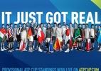ATP lança ranking para definir participantes de competição entre países - (Sem crédito)