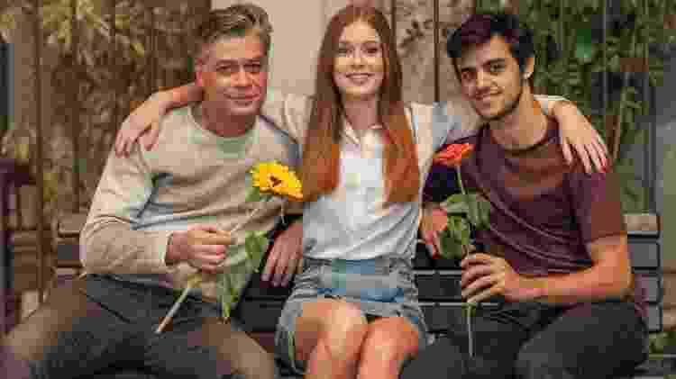 Marina, Fabio e Simas - Reprodução / Internet - Reprodução / Internet