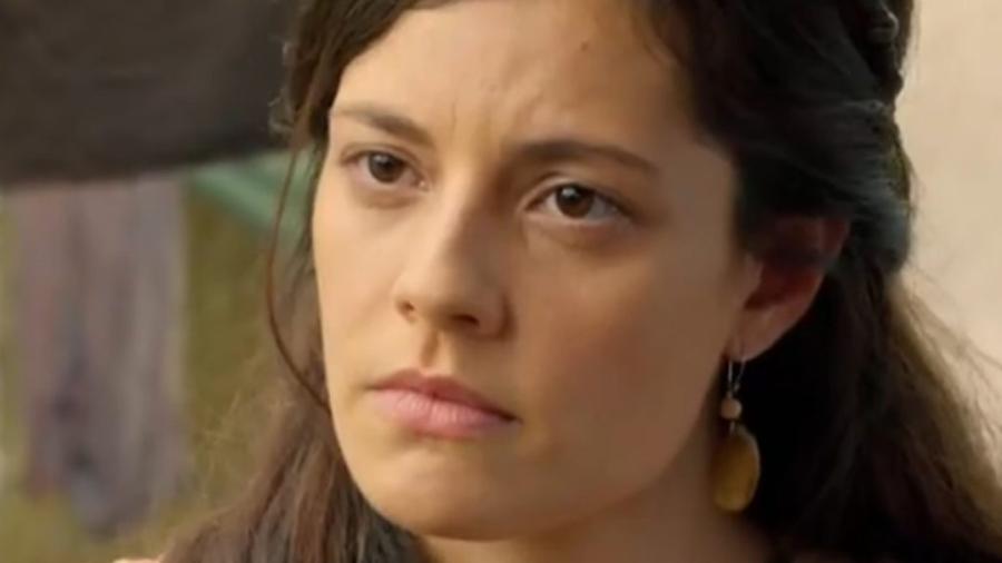Zilpa (Lina Mello) em Gênesis (Reprodução/Record TV) - Reprodução / Internet