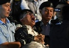 Ativista pró-democracia de Hong Kong detido durante protesto - Foto: AFP