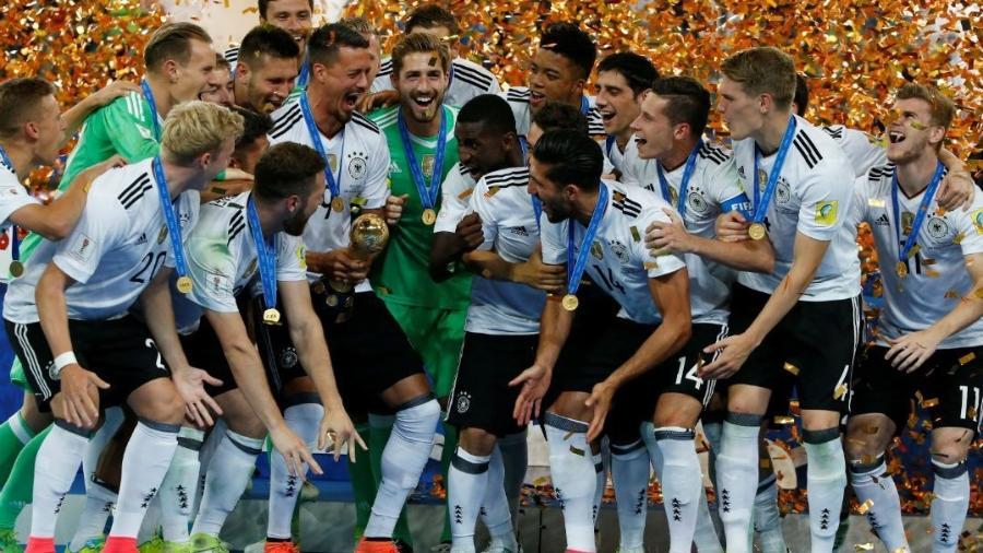 Alemanha foi a grande campeã da Copa das Confederações - Grigory Dukor/Reuters